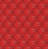 Pattern. Royal pattern seamless with crowns Royalty Free Stock Photos