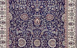 Pattern on Rug Royalty Free Stock Image