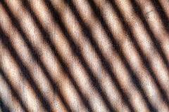 Pattern of rusty chimney Stock Image
