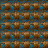 Pattern of rusty metal wall, and old paint Royalty Free Stock Photo