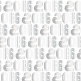 2016 pattern S. 2016 Silver pattern retro stripe funky style numbers for Happy New Year celebration with white background Vector Illustration