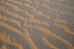 Pattern of sand dunes of Empty Quarter desert Stock Photography