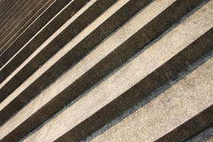 Pattern of sand step. In up direction royalty free stock photo
