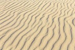 Pattern of sandy beach Stock Photo