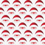 Pattern of Santa Claus Stock Images