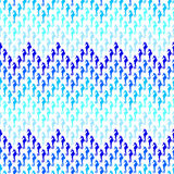 Pattern with seahorse Stock Image