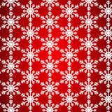 Pattern without seam from white snowflake stock illustration
