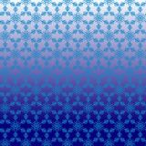 Pattern without seam from white snowflake vector illustration