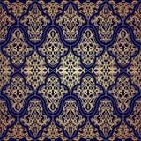 Pattern seamless with damask motifs. Stock Photo
