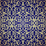 Pattern seamless with damask motifs. Stock Images