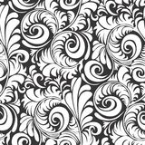 Batik Pattern seamless floral background Vector illustration. Stock Photo