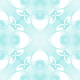 Pattern  seamless. Flower abstract pale Stock Photo