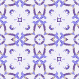 Pattern 2-17. Seamless pattern with geometric and floral ornaments, tribal, boho style Royalty Free Stock Image