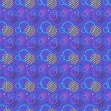 Pattern seamless memphis retro style. Abstract  seamless b. Ackground. Memphis geometric pattern vintage pop art shapes. Modern minimal colorful trendy graphic Stock Photo