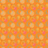 Pattern seamless memphis retro style. Abstract  seamless b. Ackground. Memphis geometric pattern vintage pop art shapes. Modern minimal colorful trendy graphic Stock Photos
