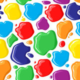 Pattern seamless of paints drops and spots Stock Images