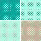 Pattern seamless polka dot background Royalty Free Stock Image