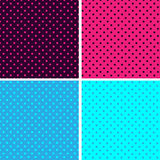 Pattern seamless polka dot background. Illustration pattern seamless polka dot background Stock Images