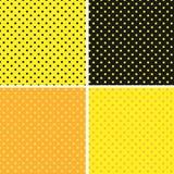 Pattern seamless polka dot background Royalty Free Stock Image