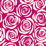 Pattern seamless roses Stock Photo