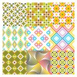 Pattern seamless squer Stock Photo