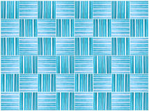 Pattern seamless tone blue color paint on wood small Stock Images