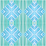Pattern seamless tone blue turquoise color paint on wood design Royalty Free Stock Images