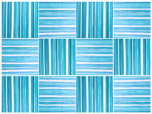 Pattern seamless tone blue and white bright color painting on wo. Pattern seamless tone blue and white bright color design, Painting handicraft on wood small Stock Images