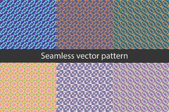 PATTERN 14 Seamless vector pattern with geometric shapes royalty free illustration