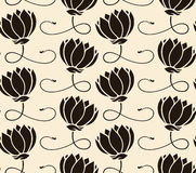 Free Pattern Seamless With Lotus Royalty Free Stock Image - 16402146