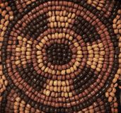Pattern seed beads Stock Photos