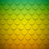 Pattern of semicircles in squama style Stock Image