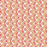 Pattern5 senza cuciture asiatico Immagini Stock Libere da Diritti