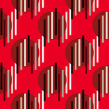 Pattern204 senza cuciture astratto illustrazione di stock