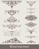 Pattern set 01 Royalty Free Stock Image