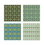 Pattern set_3. Two kinds of pattern. In two different colours Stock Photo
