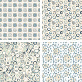 Pattern set in abstract Royalty Free Stock Images