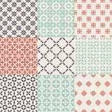 Pattern Set Royalty Free Stock Photo
