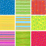 Pattern set Royalty Free Stock Image
