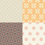 Pattern Set Royalty Free Stock Photos