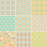 Pattern Set Royalty Free Stock Photography