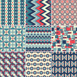 Pattern Set Royalty Free Stock Images