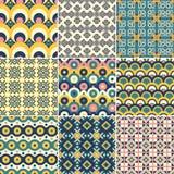 Pattern Set Royalty Free Stock Image