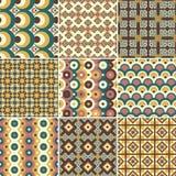 Pattern Set Royalty Free Stock Photography