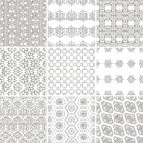 Pattern Set Stock Photography