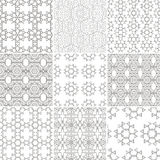 Pattern Set Stock Image