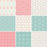 Pattern Set Stock Photo