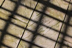 A Pattern of Shadows Royalty Free Stock Photo
