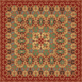 Pattern for shawl Stock Image