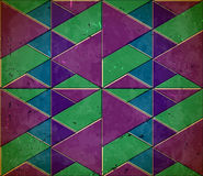 Pattern with shifted colors Royalty Free Stock Photography